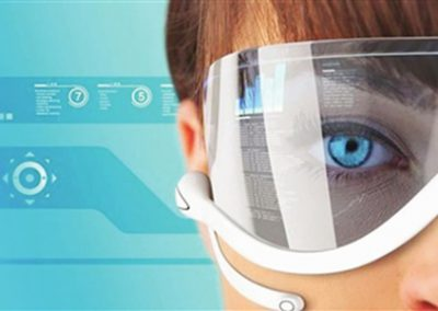 smart glass with lipo battery